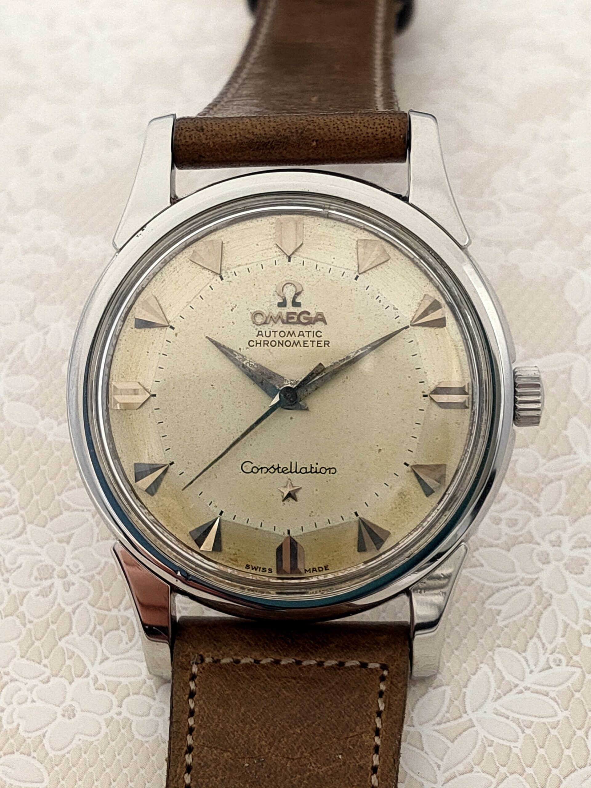 OMEGA Constellation 1950's SS